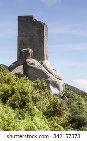 Tower San Giovanni near Sant Ilario, Torre di San Giovanni, Elba, Tuscany, Italy