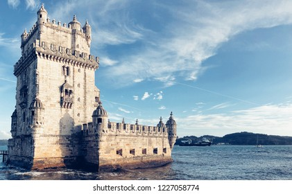 Belém tower in sea of Portugal