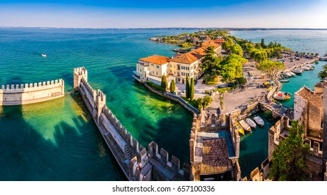 The tower. Sirmione, Italy