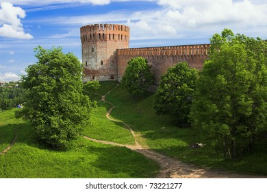 Tower of the Smolensk fortress wall, Russia