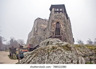 The Tower of Solomon. Visegrad. Hungary