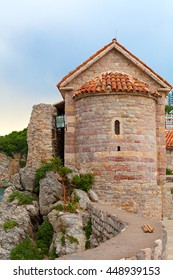 Tower in Stari Grad Budva, Montenegro