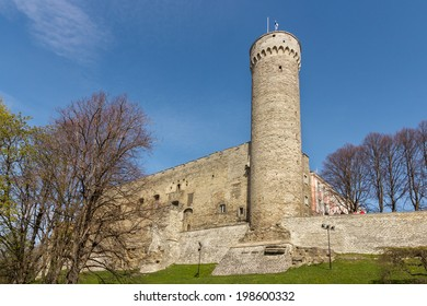 Tower Tall Germann (Pikk Hermann) at Old Tallinn, Estonia