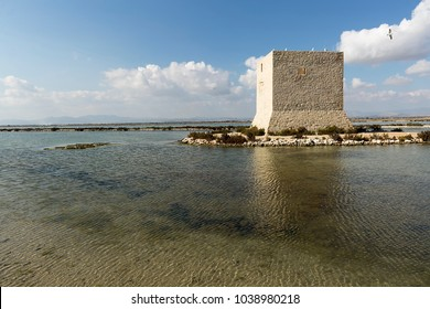 Tower of Tamarit in Santa Pola, province of Alicante, Spain.