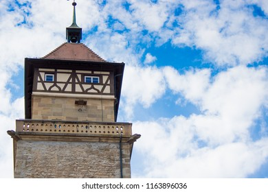 Tower in the town Waiblingen, Germany