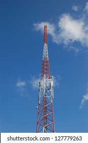 A tower used for communication.