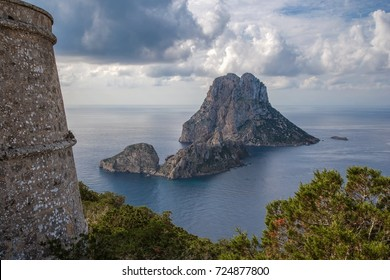 Tower view of Es Vedra