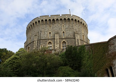 The tower of the Windsor castle, England