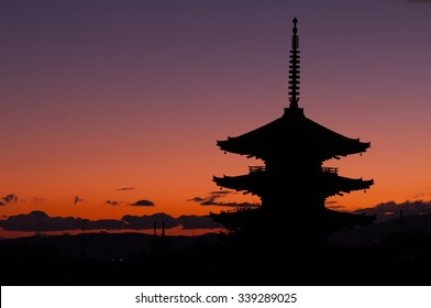 The tower of yasaka, Kyoto(prefectures),japanese traditional temples and shrine