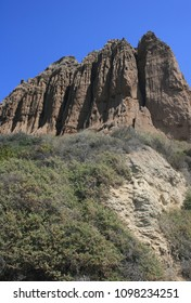 Towering geological formations, San Diego County, CA