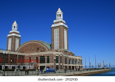 Towers at the end of the Navy Pier, Chicago