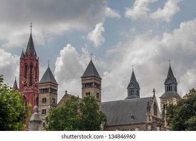 The towers of a famous church in the Netherlands.