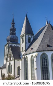 Towers of the Marien church in Lippstadt, Germany