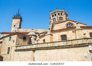 Towers of Ourense cathedral