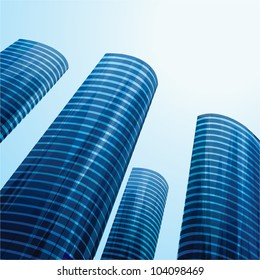 Towers. Raster version, vector file ID: 101275393