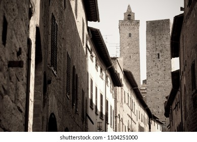 The towers of San Giminiano