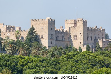 The Towers and wall of the Palace of the Grand Master of the Knights of Rhodes