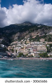 The town of Amalfi (Italy)