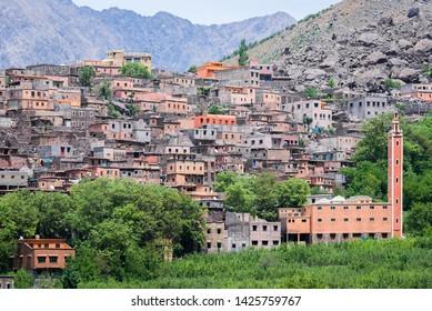 Town of Aroumd, Toubkal national park, Morocco