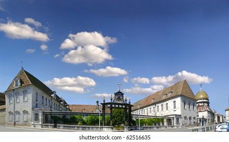 Town Besancon, France,