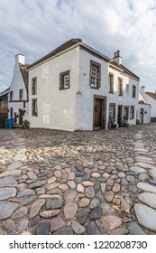 The town of Culross is a former royal burgh in Fife, Scotland.