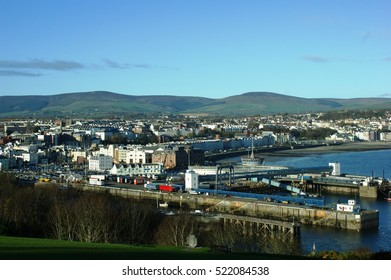 The town of Douglas from Douglas Head, Isle of Man