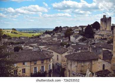 Town of Saint-Émilion, France