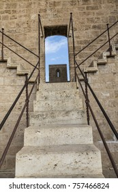 Town Gate steps