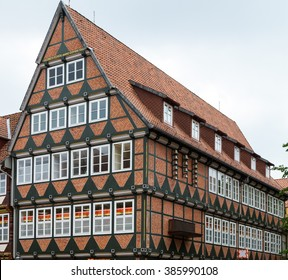 Town in Germany/ Celle/ half-timbered house