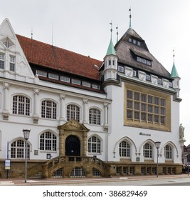 Town in Germany/ Celle/ half-timbered house - Shutterstock ID 386829469