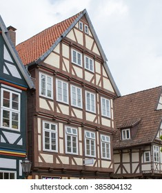 Town in Germany/Celle/half-timber house
