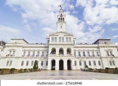 Town Hall Arad, Front view City Hall Arad