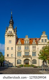 Town Hall of Bernburg an der Saale Saxony-Anhalt Germany