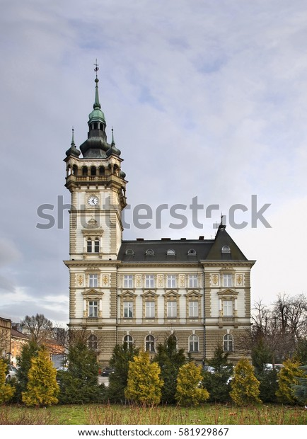 Town hall in Bielsko-Biala. Poland