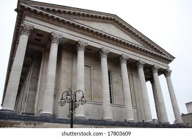 Town hall building in Birmingham, England