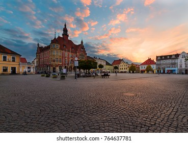 Town Hall in the central square of Tarnowskie Gory