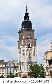 town hall in Cracow city in Poland