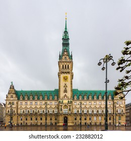 Town hall of Hamburg, Germany