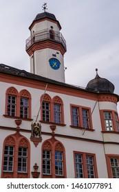 Town hall of Hof an der Saale in Bavaria Germany
