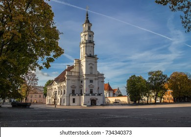 Town Hall of Kaunas in Town Hall Square at the Old Town, Kaunas, Lithuania