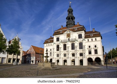 Town hall of Lueneburg, near Hamburg, Germany