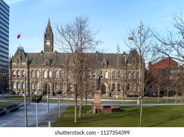Town hall of Middlesbrough city , Teeside UK