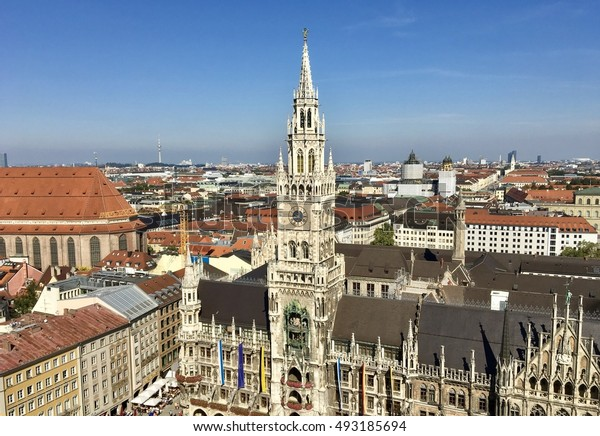 The Town Hall of Munich in Bavaria