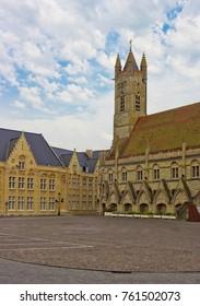 Town hall in Nieuwpoort, Belgium