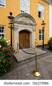 Town Hall in the old town of Aalborg in Denmark