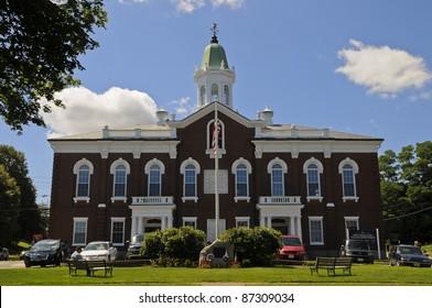 Town Hall, Plymouth, Massachusetts, USA