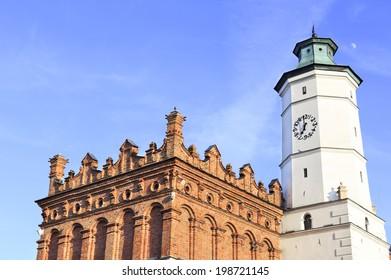 Town Hall in Sandomierz, Poland