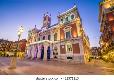 Town Hall of Valladolid, Spain. It is located in the Main Square (Plaza Mayor) of the city.