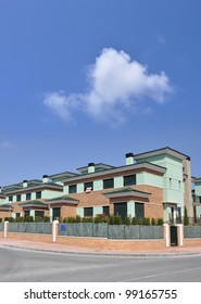 Town Houses Row Homes For Sale Sign English and Spanish