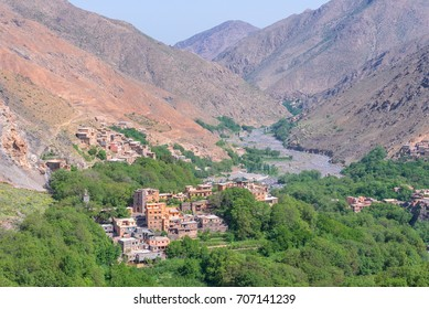 Town of Imlil, Toubkal national park, Morocco